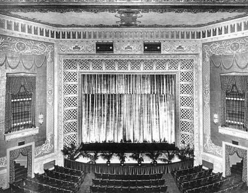 Balcony View of Original Stage